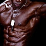 Man Made Of Dark Chocolate Poster