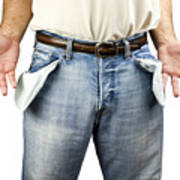 Man With Empty Pockets Poster