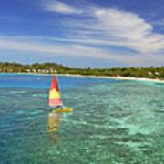 Mana Island Lagoon Poster