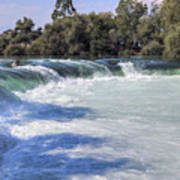 Manavgat Waterfall - Turkey Poster