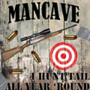 Mancave Hunt Tail Poster
