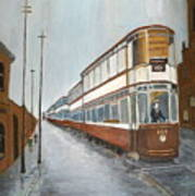 Manchester Piccadilly Tram Poster