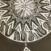Mandala 001 Poster