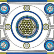 Mandala Anese Poster