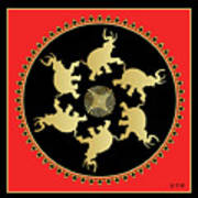 Mandala No 3 Poster