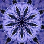 Mandala Ocean Wave Poster