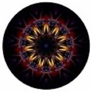 Mandala - Talisman 1389 Poster