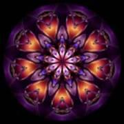 Mandala - Talisman 1433 Poster