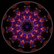 Mandala - Talisman 1449 Poster