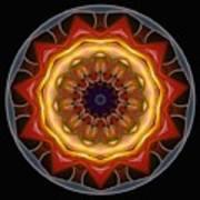 Mandala - Talisman 1452 Poster