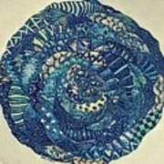Mandala Tangled Digital Poster