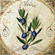 Mangia Olives Poster