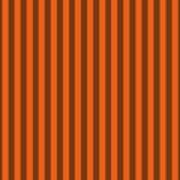 Mango Orange Striped Pattern Design Poster