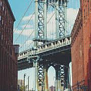 Manhattan Bridge Poster