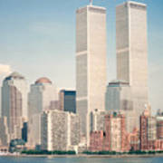 Manhattan Circa 1990 Poster