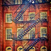 Manhattan Facade Poster