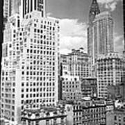 Manhattan From Madison Avenue Poster