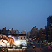 Manhattan View From The High Line Poster