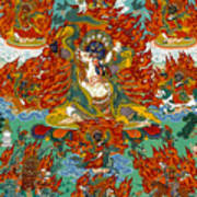 Maning Mahakala With Retinue Poster