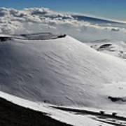 Mauna Kea Dressed In Snow Poster