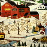 Maple Syrup Factory Poster