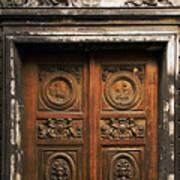 Marais Doorway Poster