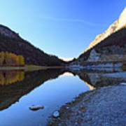 Marble Canyon Autumn Reflection Poster