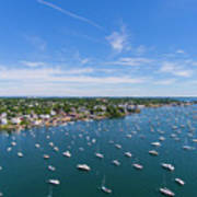 Marblehead Harbor Poster