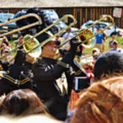 Marching Band Brass Poster