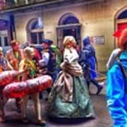 Mardi Gras Craziness Poster