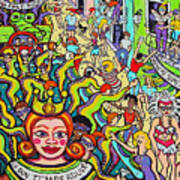Mardi Gras - Throw Me Something Mister Poster
