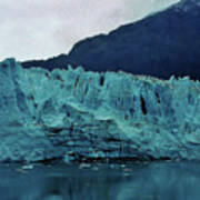 Margerie Glacier - Reflection Poster
