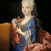 Maria Anna Victoria Of Bourbon. The Future Queen Of Portugal Poster