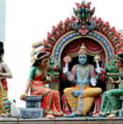Mariamman Temple Detail 4 Poster