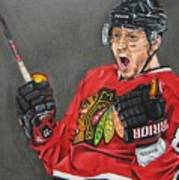 Marian Hossa Poster by Brian Schuster
