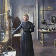 Marie Curie (1867-1934) Poster
