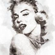 Marilyn Monroe Portrait 01 Poster