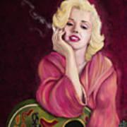 Marilyn Monroe Poster by Sydne Archambault