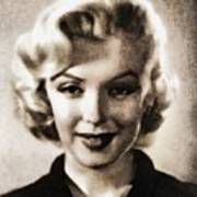Marilyn Monroe, Vintage Actress Poster
