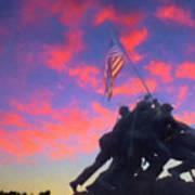 Marines At Dawn Poster