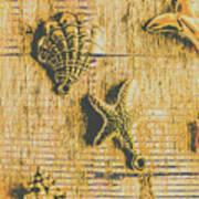 Maritime Sea Scroll Poster