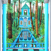 Marjorelle Reflections Poster