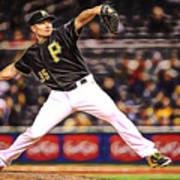 Mark Melancon Baseball Poster