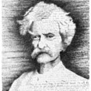 Mark Twain In His Own Words Poster