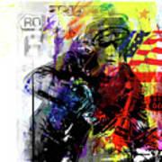 Marlon Brando American Hero Poster