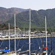 Marmaris Port Poster