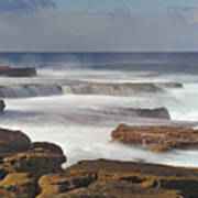 Maroubra Seascape 01 Poster by Barry Culling
