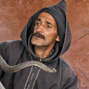 Marrakech Snake Charmer Poster
