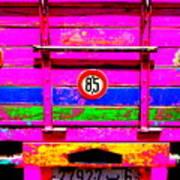 Marrakech Truck Poster