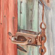 Marsha's Lock Poster